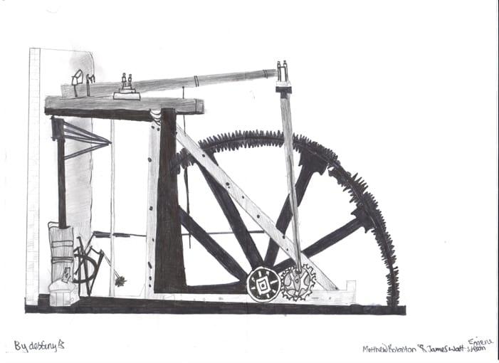 Steam engine Destiny B 001